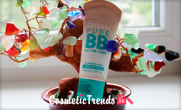 ВВ крем MAYBELLINE Dream Pure BB