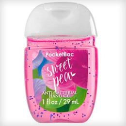 Bath & Body Works PocketBac Sweet Pea Sanitizer