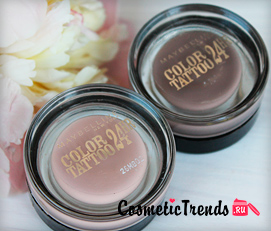 кремообразные тени Мейбелин Color Tattoo 24 Hour