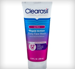 Clearasil Ultra Rapid Action Daily Face Wash Maximum Strength