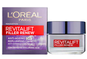 L'Oreal Paris Revitalift Filler Renew Anti Ageing Cream 50ml.